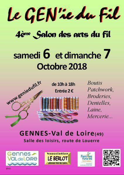 Salon du GEN'ie du Fil annoncé sur l'Agenda du Fil - agendadufil.fr