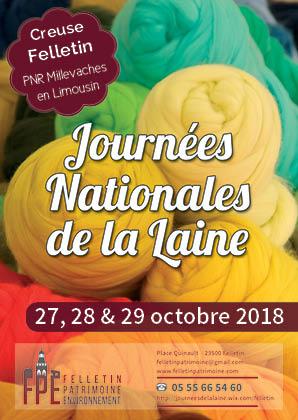 19èmes Journées Nationales de la Laine annoncé sur l'Agenda du Fil - agendadufil.fr