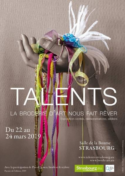 TALENTS : la broderie d'art nous fait rêver annoncé sur l'Agenda du Fil - agendadufil.fr