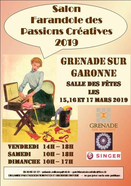 Farandole des Passions Créatives annoncé sur l'Agenda du Fil - agendadufil.fr