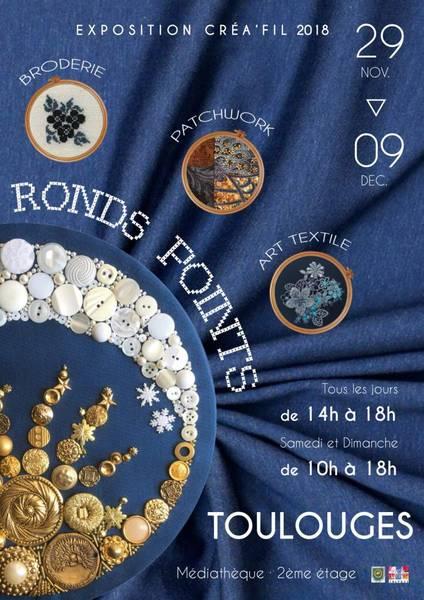 Exposition RONDS POINTS annoncé sur l'Agenda du Fil - agendadufil.fr