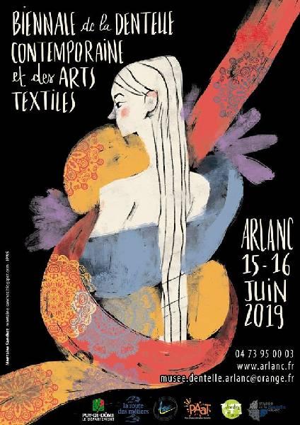 Biennale de la Dentelle Contemporaine et des Arts Textiles annoncé sur l'Agenda du Fil - agendadufil.fr