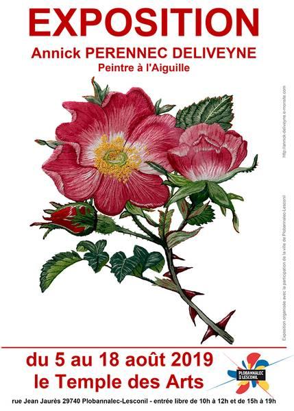 Exposition de peinture à l'aiguille annoncé sur l'Agenda du Fil - agendadufil.fr