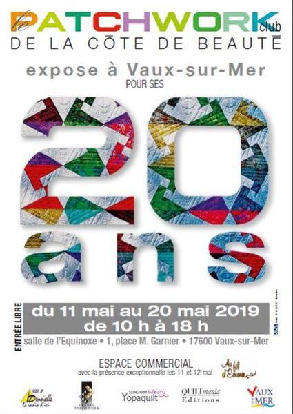 Exposition de Patchwork annoncé sur l'Agenda du Fil - agendadufil.fr