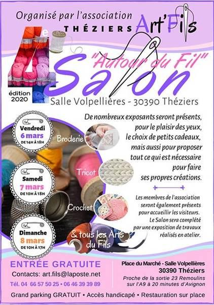 Salon Art Fils annoncé sur l'Agenda du Fil - agendadufil.fr