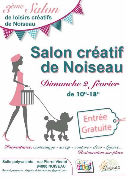 Salon des loisirs créatifs annoncé sur l'Agenda du Fil - agendadufil.fr
